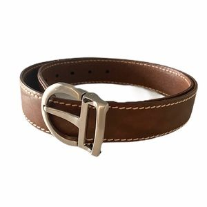 Cole Haan Brown Leather Belt Size 85